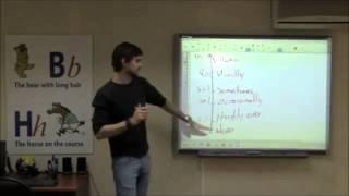 Урок английского с носителем языка Donovan Lesson