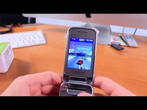 Samsung GT-C3592 Осмотр Раскладушки
