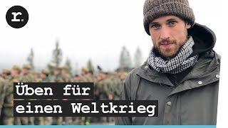 NATO Großmanöver: Soldaten der Bundeswehr trainieren Krieg