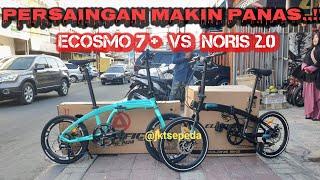 Persaingan Sengit Sepeda Lipat PACIFIC Noris 2.0 VS ELEMENT Ecosmo 7   Ulas Perbedaannya
