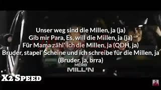Mero - Mill'n Lyrics