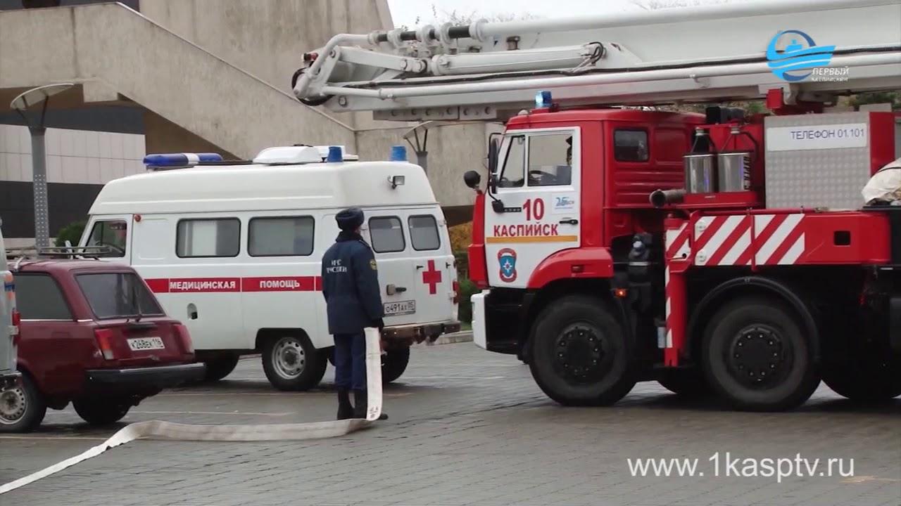 Сотрудники МЧС провели пожарно-тактические учения в развлекательном комплексе «Москва»