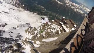 Team Tickle Bikers Alps 2016 Mont Blanc wingsuits