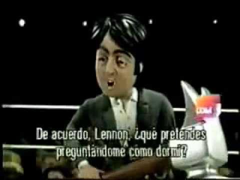 TODAS las referencias Beatle en Celebrity Deathmatch - YouTube