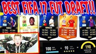 MEIN BESTES 190 FUT DRAFT + 4 TOTYS in FIFA 17!! 😱⚽⛔️ - ULTIMATE TEAM (DEUTSCH)