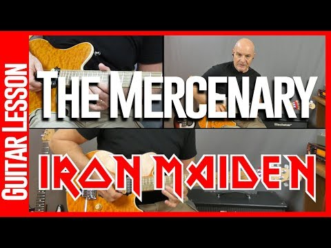 The Mercenary By Iron Maiden Guitar Lesson