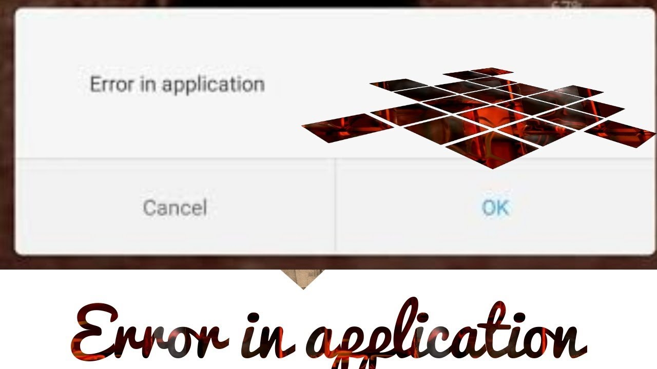 Error in application/Full recover and develop`server error in application