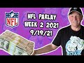 Free NFL Parlay For Today 9/19/21 NFL Pick & Prediction NFL Betting