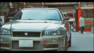 Tokyo Midnight Run -R34 GTR-  | 4K