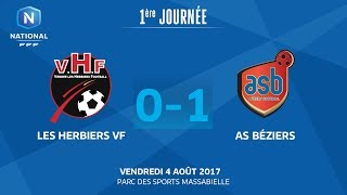 Les Herbiers vs AS Beziers full match