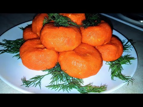 Горячие мандаринки, цыганка готовит. Новогодняя закуска Gipsy Kitchen.