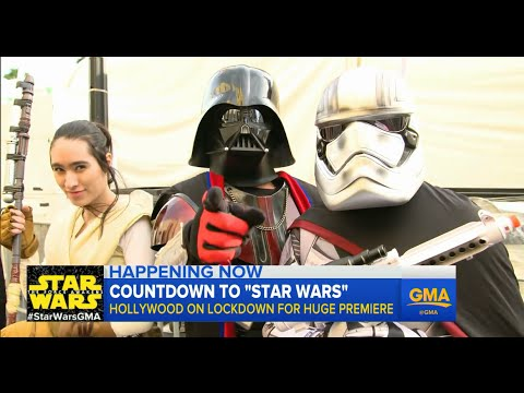 'Star Wars: The Force Awakens': Superfans Camp Out, Get Married In Line For Premiere