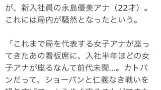 9月29日から、ショーパン(生野陽子アナ・30才)に代わって、フジテレビ...