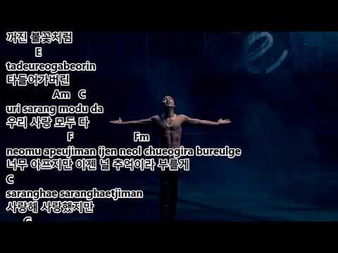 Taeyang 태양 - Eyes, Nose, Lips lyrics and chords