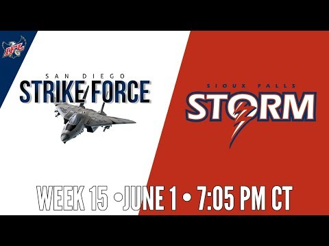 IFL Week 15 | San Diego Strike Force at Sioux Falls Storm