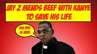 Jay Z Mending BEEF With Kanye West to Save His Life | JordanTowerNews