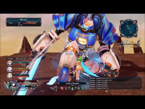 Cyberdimension Neptunia 4 Goddesses Online Boss Fight #5 Blitmate |