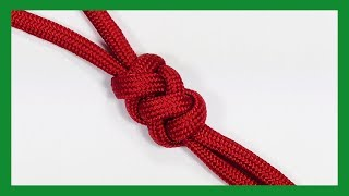 Paracord Tutorial: How To Tie The Half Elongated Crown And Diamond Knot