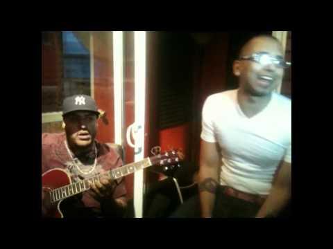 """Sensato """"El Malo"""" con Lenny en el estudio (Aventura)"""