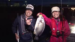 今回は大阪湾岸で広瀬達樹さんが、新発売のチヌ用ルアーを使ったズル引...