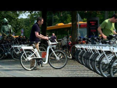 Las ultramodernas bicicletas inteligentes de Copenhague