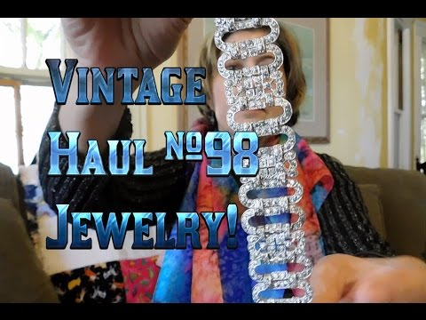 Diggin' with Dirty Girl S5E20: Vintage Haul #98 Jewelry, Bracelets Galore! to Resell Online