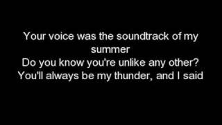 Thunder-Boys Like Girls+Lyrics+Download