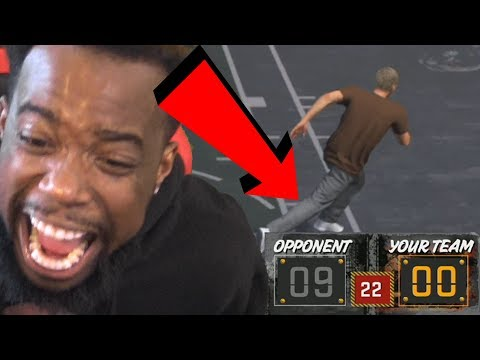 POPPED A BLOOD VESSEL! IM NEVER PLAYING WITH A BROWN SHIRT AGAIN! NBA 2k18 Playground