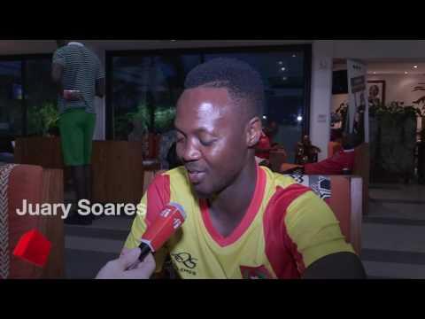 CAN 2017 : l'émotion des joueurs de Guinée- Bissau