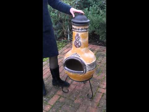 Mexican Clay Chiminea | ChimineaShop.co.uk