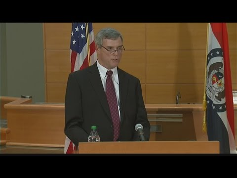 Announcement of Ferguson grand jury indictment
