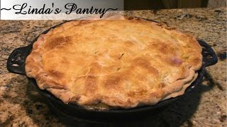 ~homemade Pie Crust For Pot Pie With Linda's Pantry~