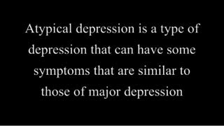 Atypical Depression (Facts for you)