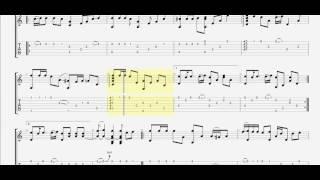 Lạc nhau có phải muôn đời. Sáng tác:  Triết Phạm (C) guitar solo tab by D U Y