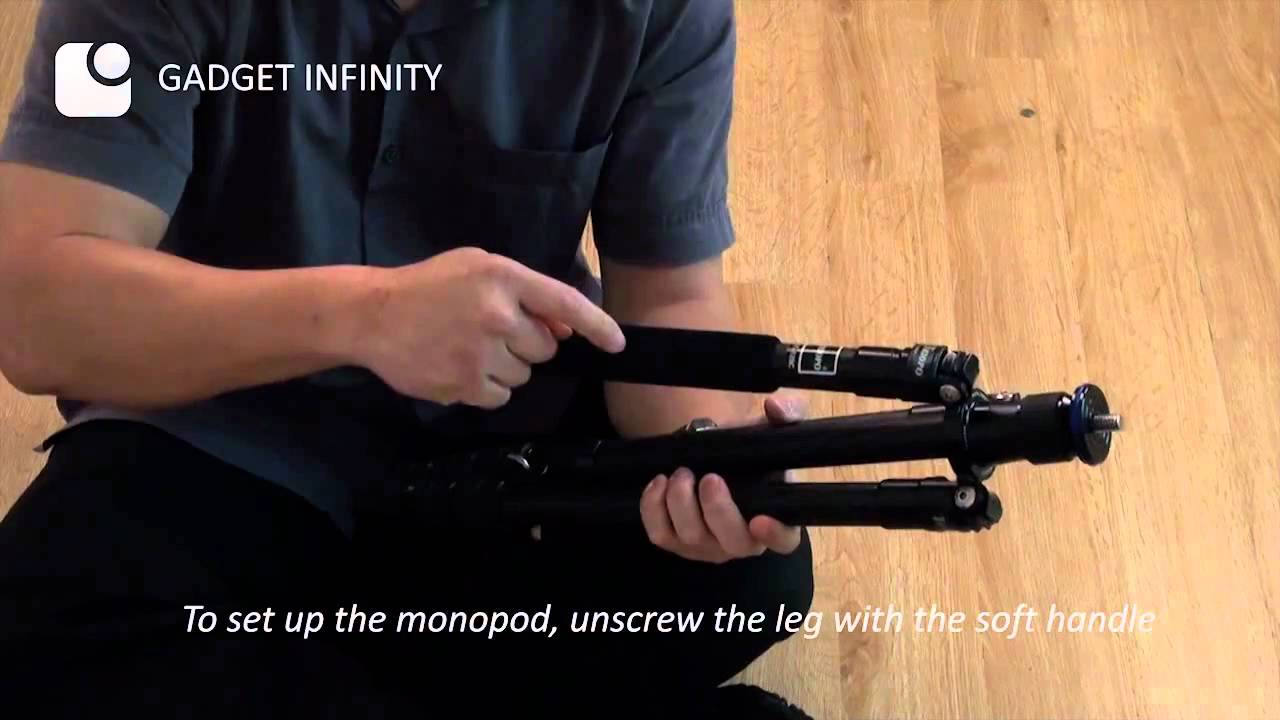 Triopo Traveler Series Folding Tripod GT-128C - YouTube