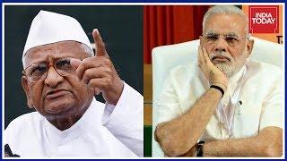 Video Anna Hazare Slams PM Modi ; Announces Fresh Agitation Over Lokpal download MP3, 3GP, MP4, WEBM, AVI, FLV April 2018