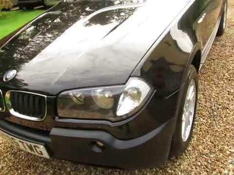2006(06) BMW X3 2.0d SE Front/Rear Parking Sensors.