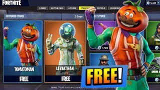 "How To Get NEW ""Tomato Head"" FORTNITE SKIN for FREE! (Fortnite Battle Royale Download Tutorial)"