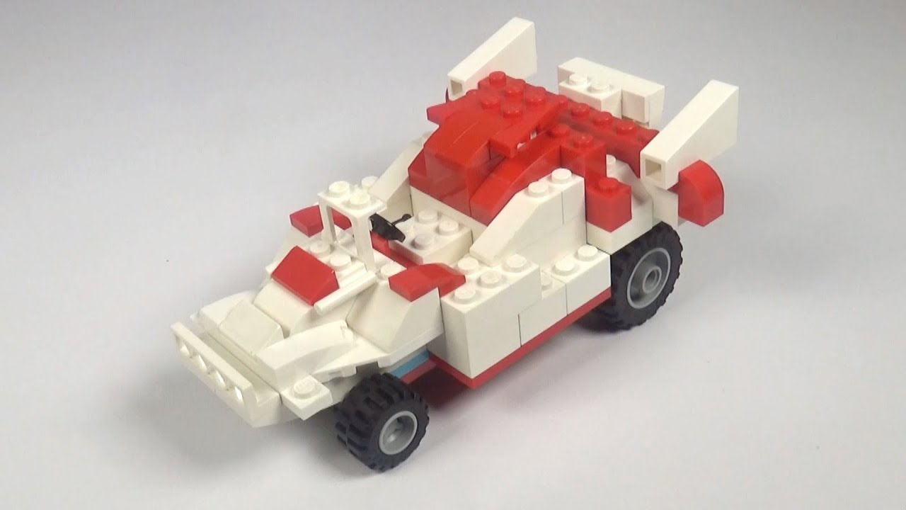 Lego Race Car 004 Building Instructions Lego Classic How To