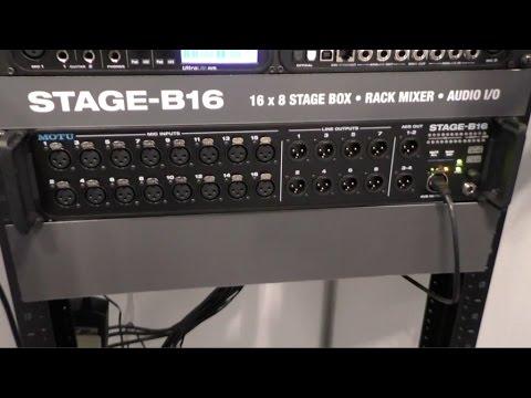 MOTU AVB Stage-B16 Audio Interface Treiber Windows 7