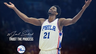 "Joel embiid ""the process"" - 2016/17 highlight mixtape"