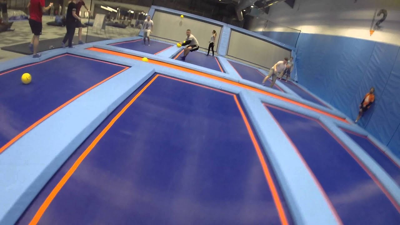 air space trampoline park dodgeball with gopro hero 3 plus. Black Bedroom Furniture Sets. Home Design Ideas
