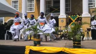 Jamaican Gere Dance by Artistry in Motion Falmouth Independence Day 2013