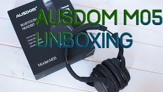 Ausdom M05 Unboxing (Deutsch/German) - Bluetooth & Kabel Headset