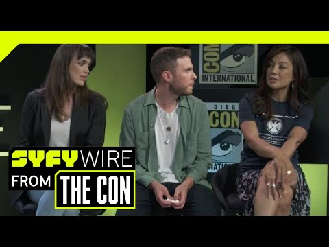 Agents of S.H.I.E.L.D. Cast On Clark Gregg's Return  SDCC 2018  SYFY WIRE