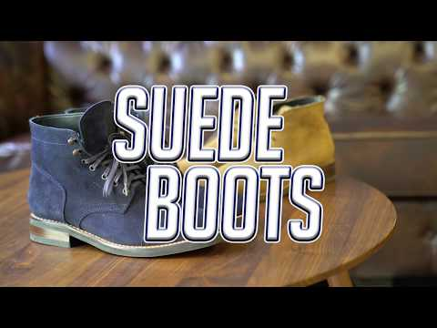 How To Style Suede Boots || Thursday Boots || Men's Fashion || Gent's Lounge