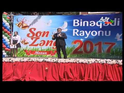 """Binəqədi rayonu Rüstəm Əliyev adına 3 nömrəli tam orta məktəbdə """"Son zəng"""" keçirildi"""