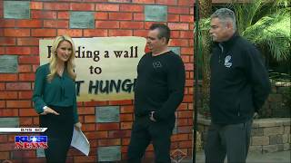 Build A Wall To Fight Hunger