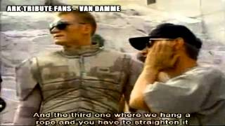 Jean-Claude Van Damme  -  Making Of Universal Soldier   1991