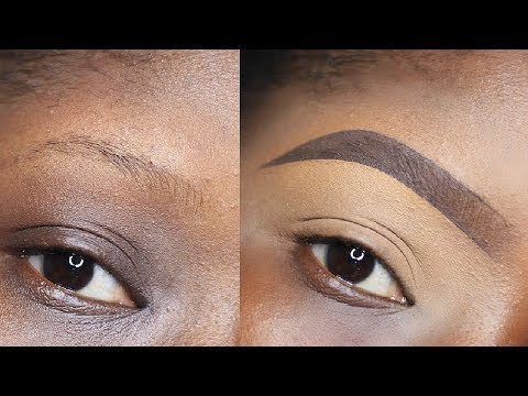 BEGINNER FRIENDLY BROW TUTORIAL/BROW TUTORIAL FOR THIN BROWS